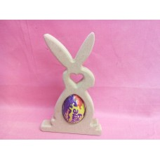 18mm MDF Easter rabbit cream egg holder